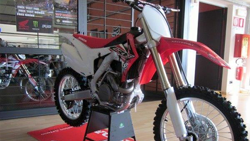 Honda Red-Moto CRF 450R MY'016.